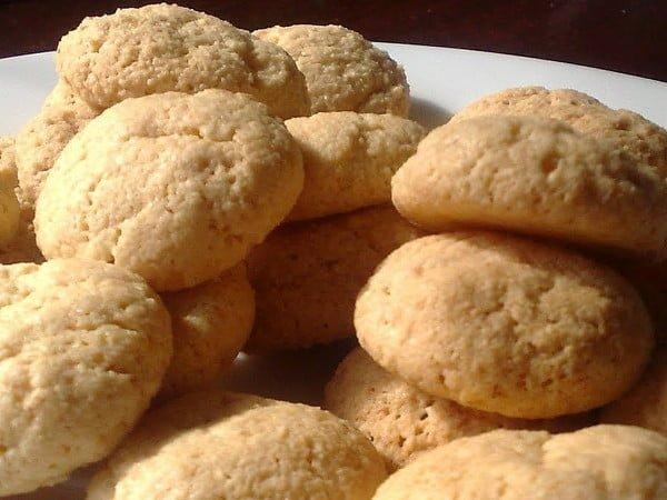 Receta de galletas de almendras caseras