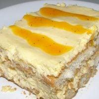 Receta de torta fría de guanábana casera