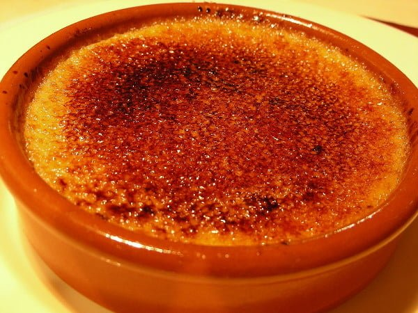Receta de crema quemada (Crème brûlée o crema catalana)