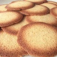 Receta de galletas de coco rallado