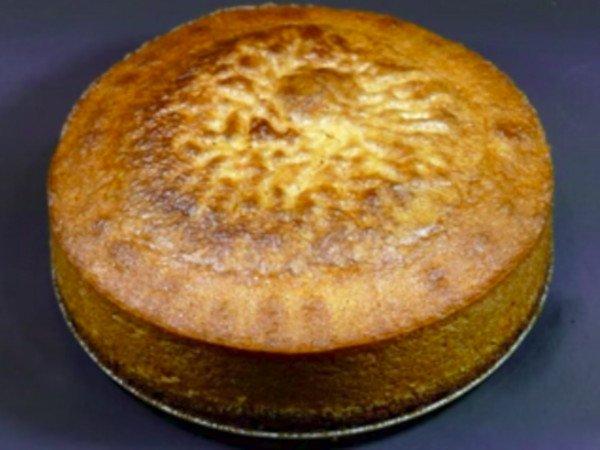 Receta de bizcocho de harina de maíz precocida